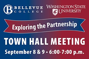 Town Hall meeting to explore partnership between Bellevue College and Washington State University