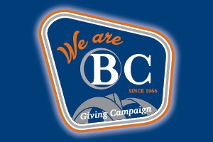 Image of homepage ad for the We Are BC Giving Campaign