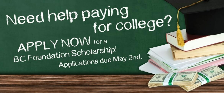 BC Foudation Scholarship