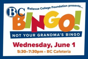 Ad for BC Bingo on Wednesday, June 1. Links to event page