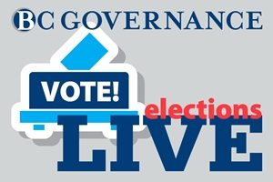 Ad for live voting in the BC Governance election