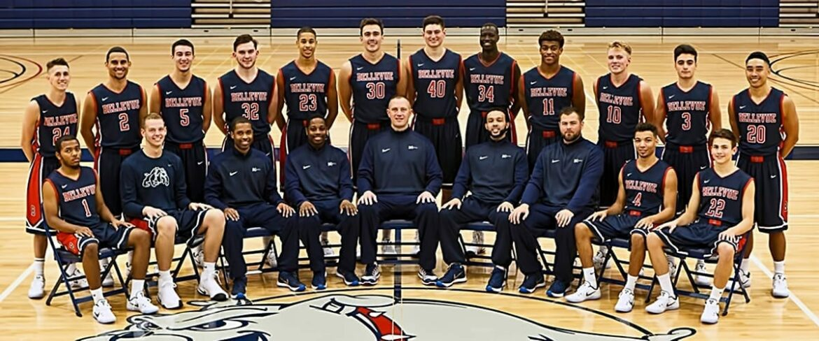 Team photo of BC men's basketball