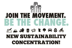 Image links to page with information on new Sustainability Concentraion and programs