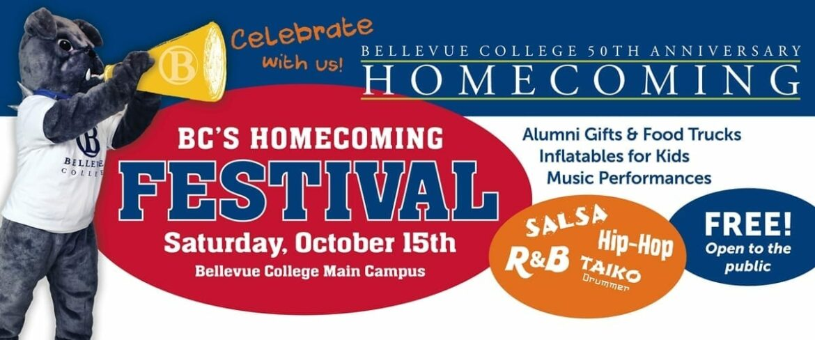 Links to information page for homecoming festival