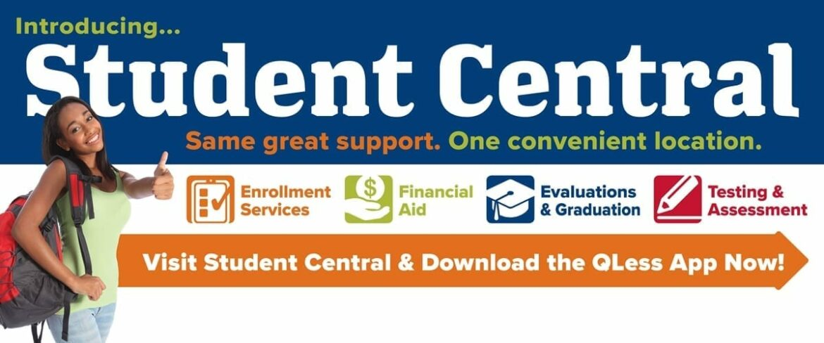 Links to Student Central information page
