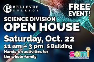 Science Division Open House links to information page