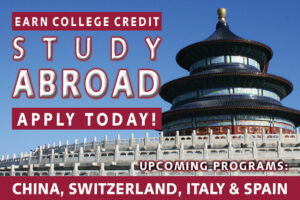 Links to information page for BC Study Abroad programs