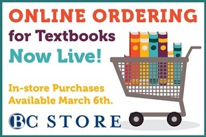BC Bookstore - Spring 2017