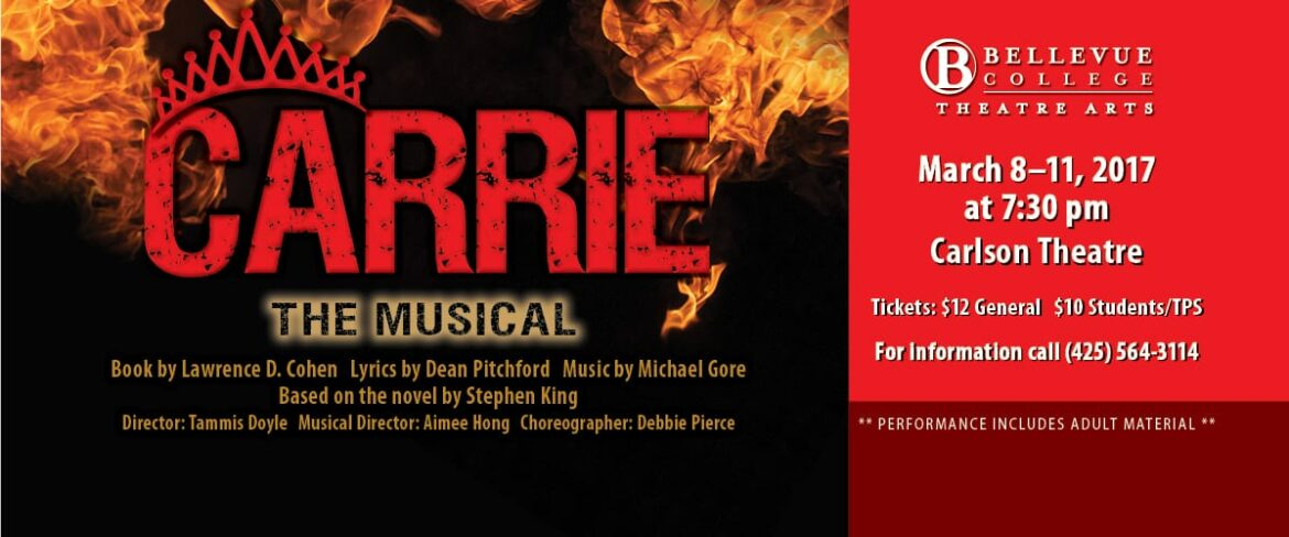 Carrie The Musical links to event info page