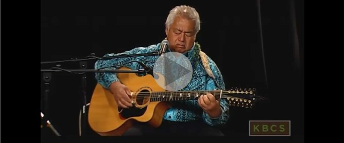 George Kahumoku Jr at KBCS