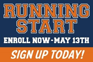 Running Start - Enroll Now - May 13th - Sign up Today