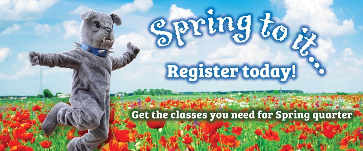 Get the classes you need for Spring quarter