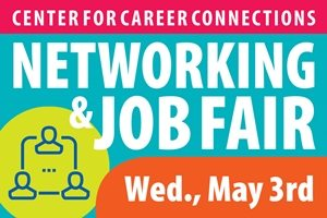 Networking and Job Fair, May 3, 2017 - Links to event info page