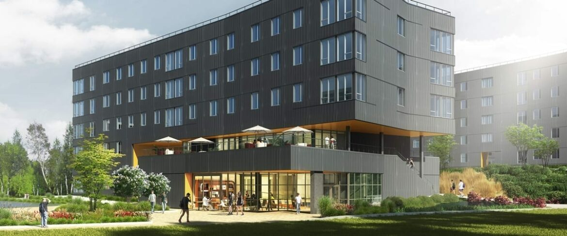 Rendering of new BC housing