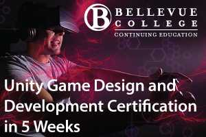Unity Game Design and Development Certifiction in 5 weeks