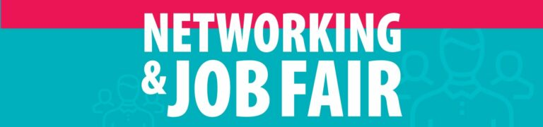 ad for Networking and Job Fair