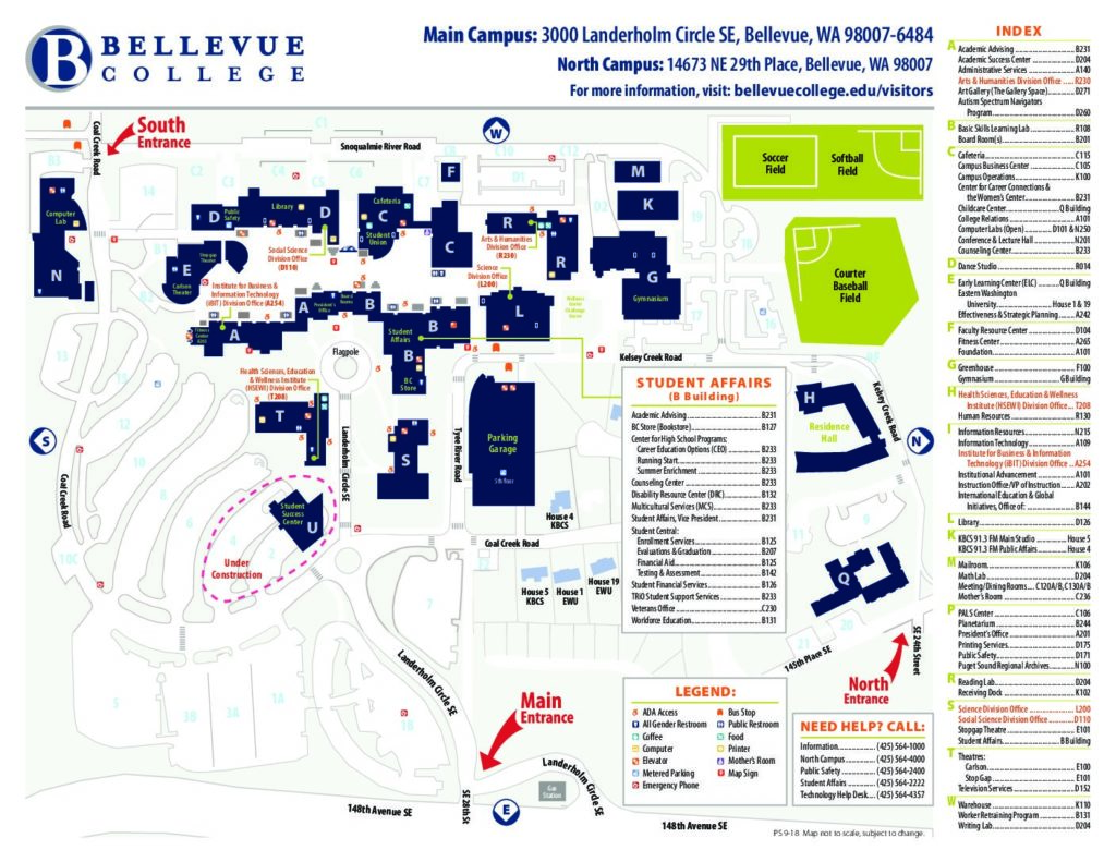 Main Campus Map :: Location and Maps