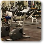 The BC Fitness Center offers a wide range of exercise equipment