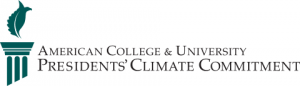 American College & University Presidents Climate Committment logo