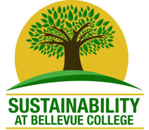 Sustainability at Bellevue College logo