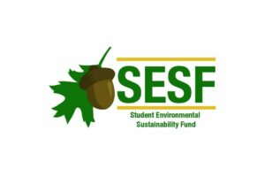 SESF logo in center of white page