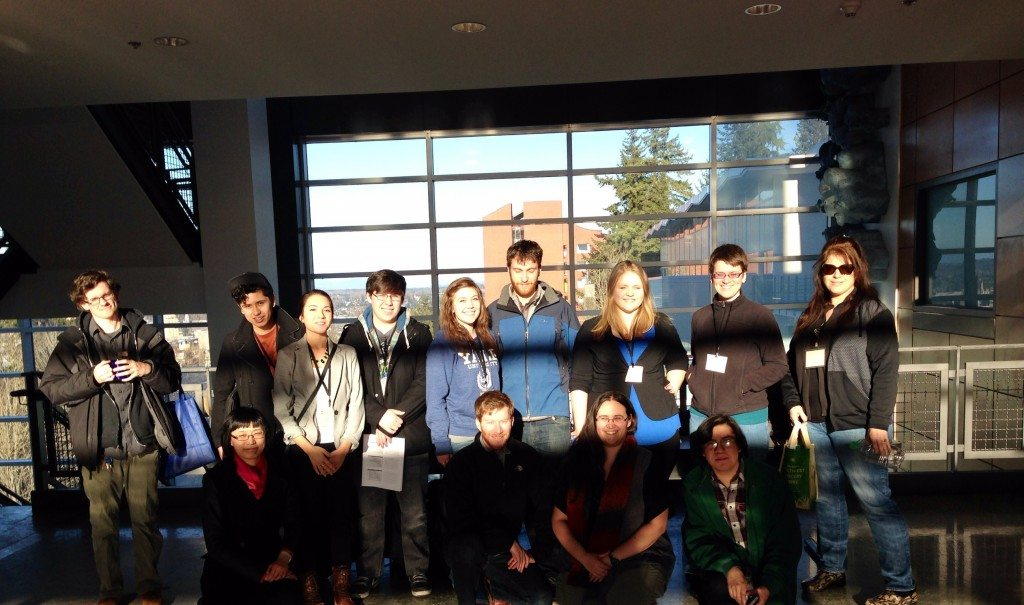 Bellevue College participants at WAHESC 2014 at Western Washington University