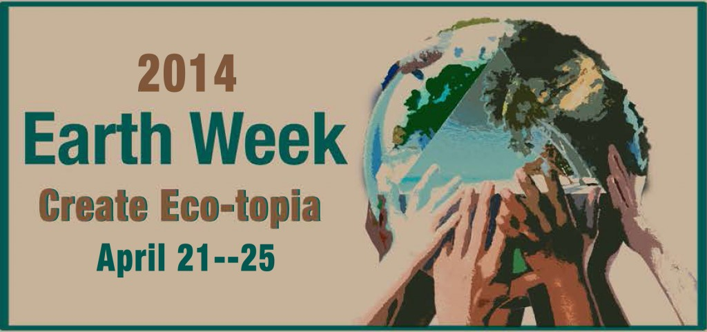 Earth Week 2014 banner image