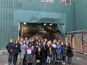 Recycling Tour. Group Picture