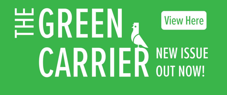 Green Carrier logo for slider