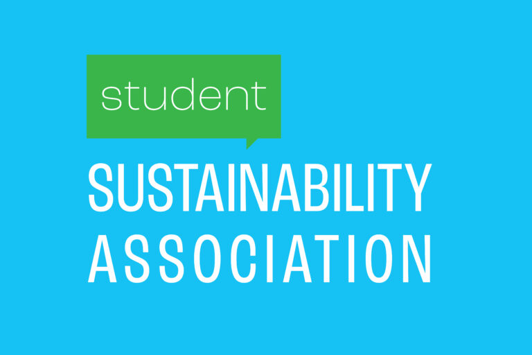 SSA logo. Student sustainability association