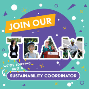 We're Hiring a Sustainability Coordinator!