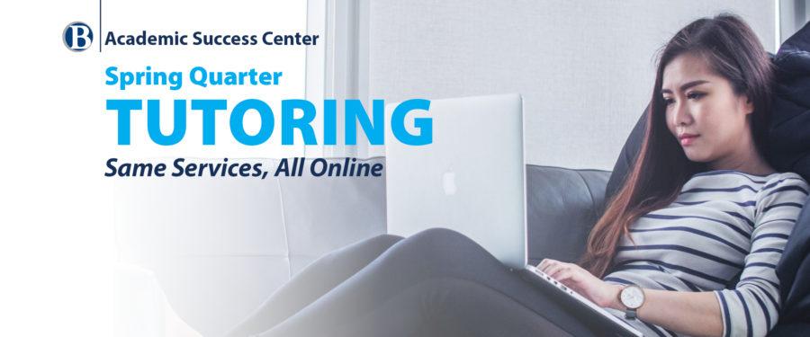 ASC tutoring all online for spring