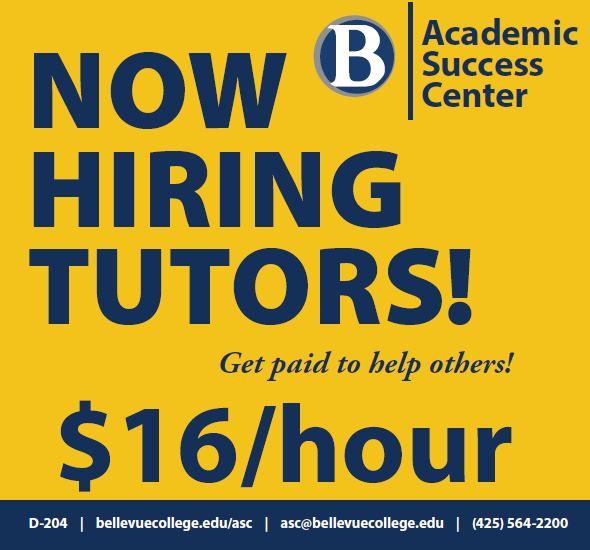 Ad for tutoring job in ASC