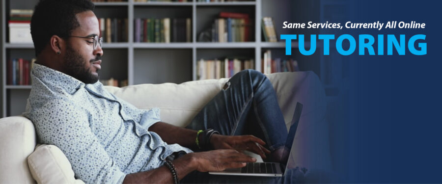 Online tutoring slider