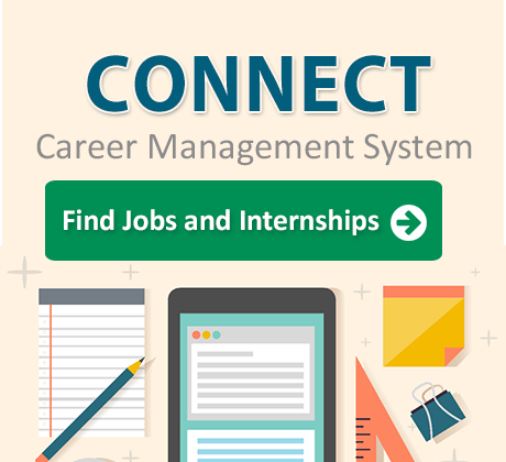 CONNECT! Career Management System. Find Jobs and Internships