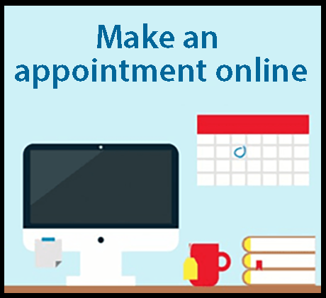 Make appointment online