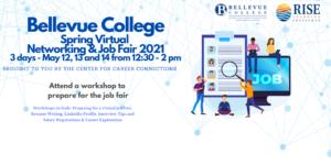 Spring Networking and Job Fair, plus preparation workshops