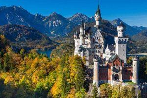 A castle in Germany