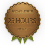 Bronze badge for 25 hours