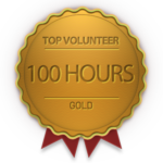Gold badge for 100 hours