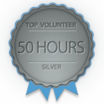 Silver badge for 50 hours