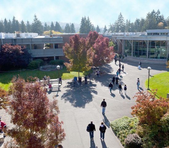 Aerial View of Bellevue College