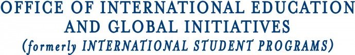 Office of International Education and Global Initiatives : formerly International Student Programs (ISP)
