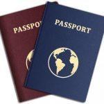 A Photo of Passports