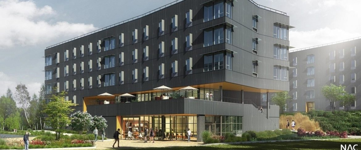 BC Student Housing Exterior Picture