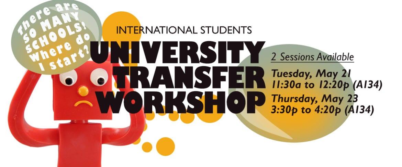 Transfer planning workshop banner