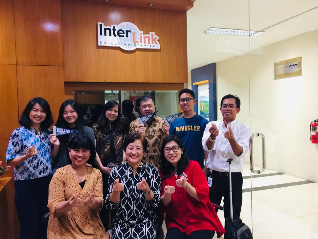 meeting with staff of InterLink