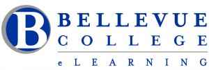 Bellevue College eLearning Horizontal Logo