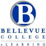 Bellevue College eLearning Vertical Logo