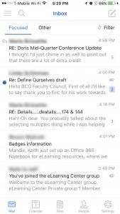 App Review: Outlook app for iOS :: BC Connect